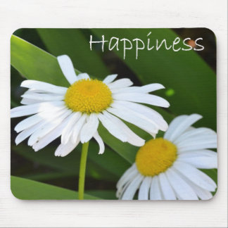 Happiness Daisies Mouse Pad