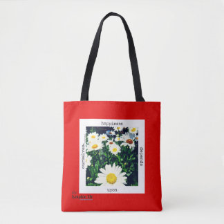 """Happiness Depends Upon Ourselves"" Tote Bag"