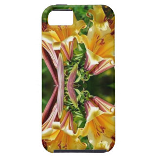 HAPPINESS Fresh look Golden Flower Show Greetings iPhone 5 Case