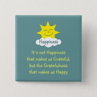 Happiness & Gratitude sun badge