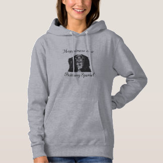 Happiness is a Brittany Spaniel Hoodie