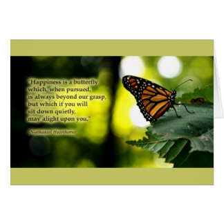 Happiness is a Butterfly Card
