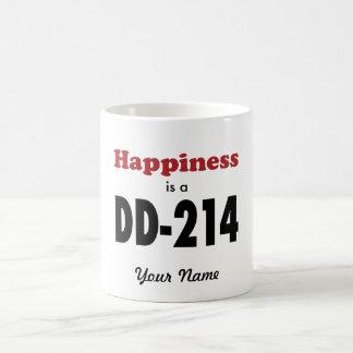 Happiness is a DD-214 Coffee Mug