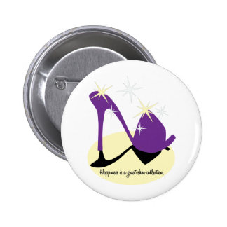 Happiness Is A Great Shoe Collection Buttons