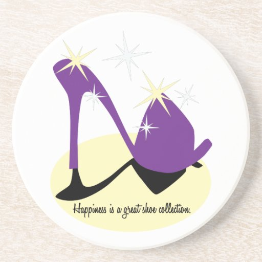 Happiness Is A Great Shoe Collection Coaster