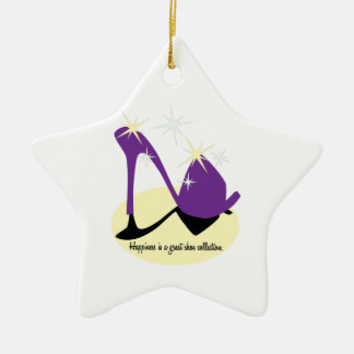 Happiness Is A Great Shoe Collection Christmas Tree Ornaments