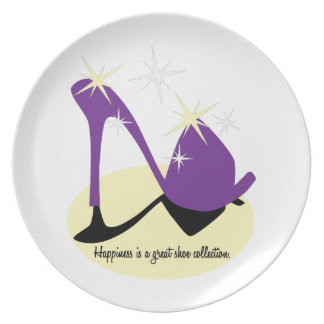 Happiness Is A Great Shoe Collection Plate