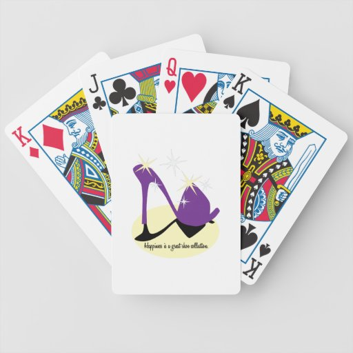 Happiness Is A Great Shoe Collection Card Decks