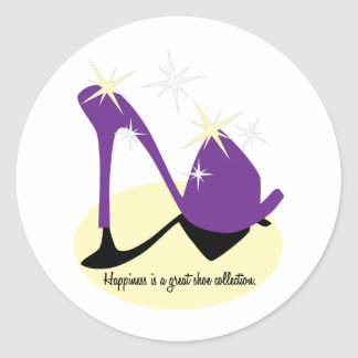 Happiness Is A Great Shoe Collection Stickers