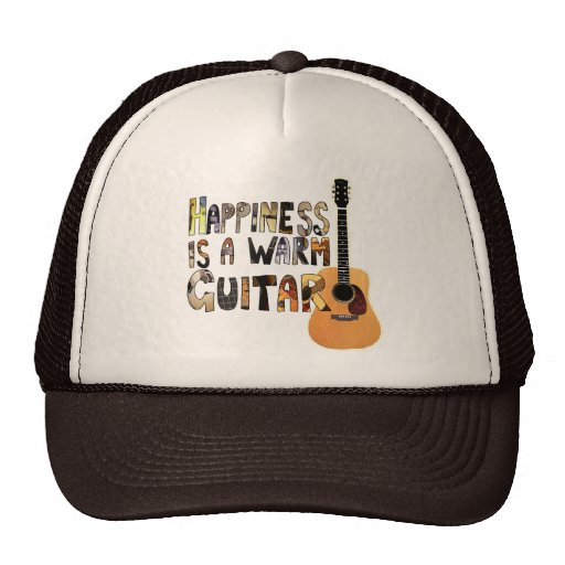 Happiness is a Warm Guitar Hat