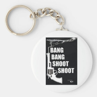 Happiness is a Warm Gun Key Chains