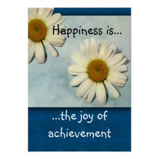 Happiness is...Achievement Print