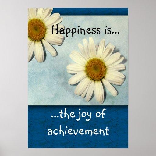 Happiness is...Achievement Print