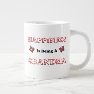 Happiness Is Being A Grandma Large Coffee Mug