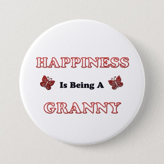 Happiness Is Being A Granny 7.5 Cm Round Badge