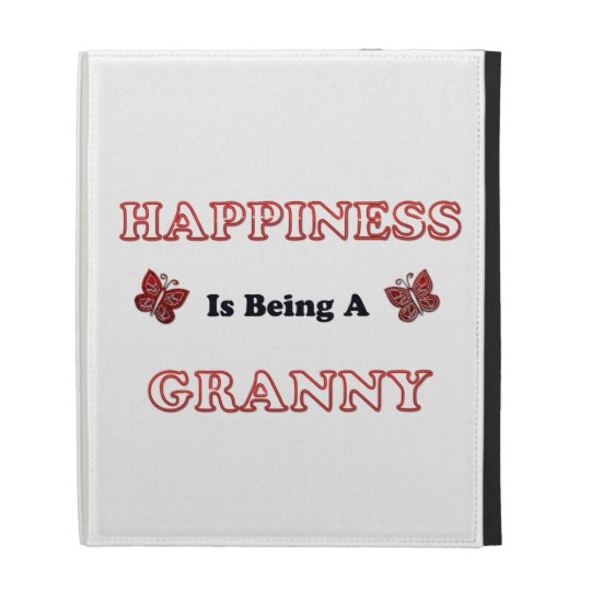 Happiness Is Being A Granny iPad Folio Cases