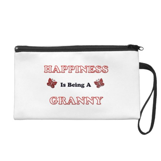 Happiness Is Being A Granny Wristlet