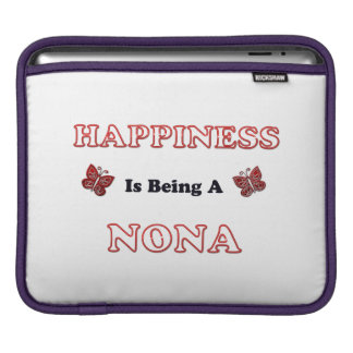 Happiness Is Being A Nona iPad Sleeve