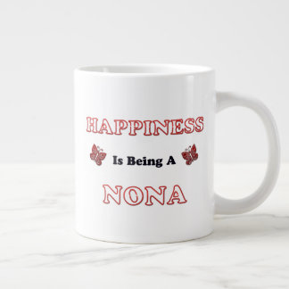Happiness Is Being A Nona Large Coffee Mug