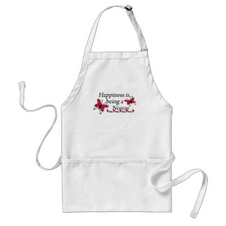 Happiness Is Being A Nonna BUTTERFLY Standard Apron