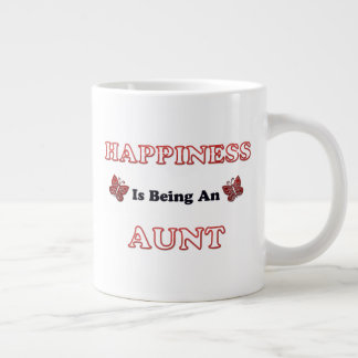 Happiness Is Being An Aunt Large Coffee Mug