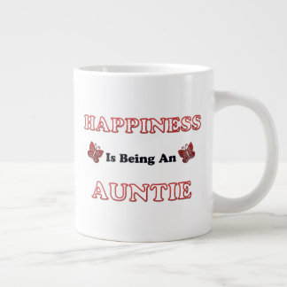 Happiness Is Being An Auntie Large Coffee Mug