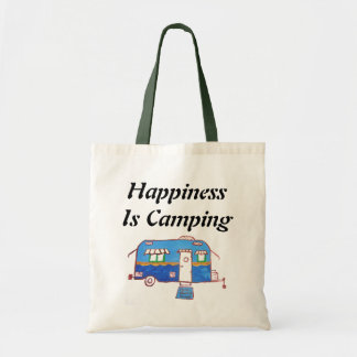 Happiness Is Camping Tote Bag