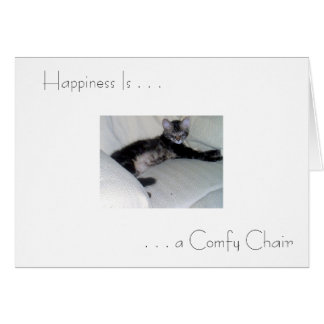 """Happiness Is . . . "" Greeting Card"
