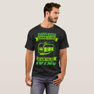 Happiness Is Ignoring The World Rving Outdoors Tee