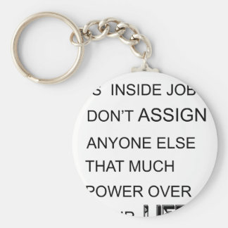 happiness is in inside job don't assign anyone  el key ring