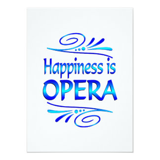 Happiness is OPERA Announcements
