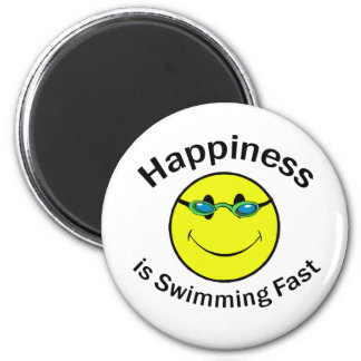 Happiness is Swimming Fast Magnets