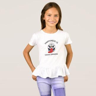 Happiness Is  Visiting Grandma, Cute Penguin Shirt