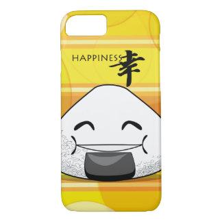 Happiness Japanese Manga Onigiri iPhone 8/7 Case