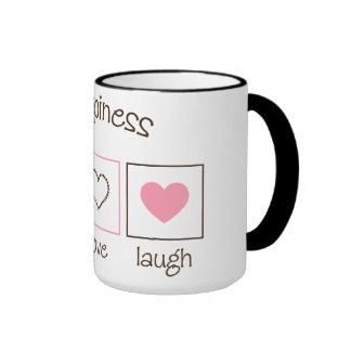 Happiness Live Love Laugh Coffee Mug