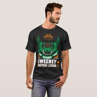 Happiness Luck Sweeney Legend Irish St Patrick Tee