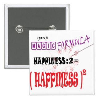 HAPPINESS MAGIC FORMULA GIFT BUTTON