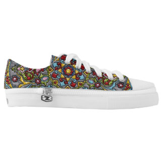 Happiness Medallion Low Tops