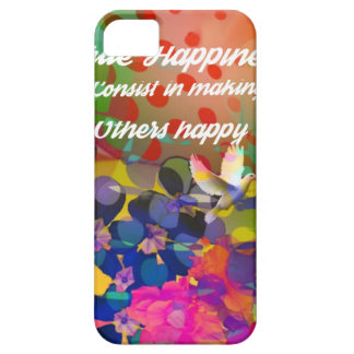 Happiness message from Voltaire. Case For The iPhone 5