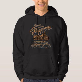 Happiness - Motorcycle Hoodie