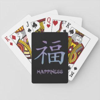 Happiness Playing Cards ~ Chinese Kanji Symbol