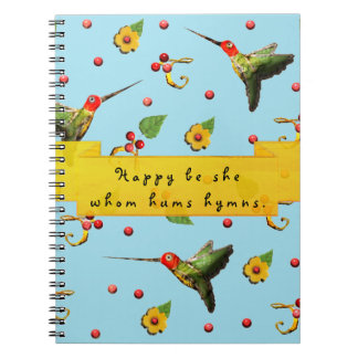 happiness quote notebook
