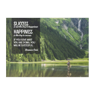 Happiness The Key To Success Acrylic Print