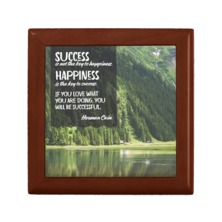 Happiness The Key To Success Gift Box