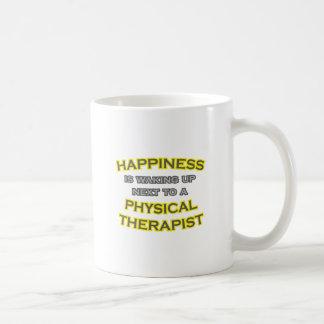 Happiness .. Waking Up .. Physical Therapist Mug