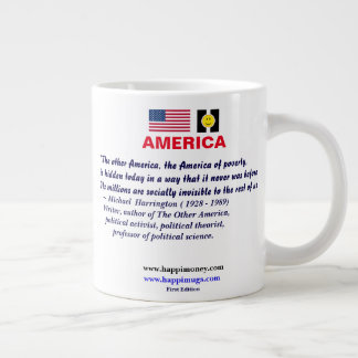 happiquotes - The other America Large Coffee Mug