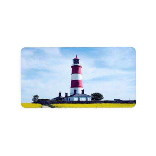 Happisburgh Lighthouse Address Label