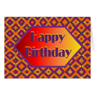 happpy birthday card