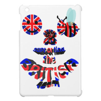 happy2bee supporting the british team iPad mini cover