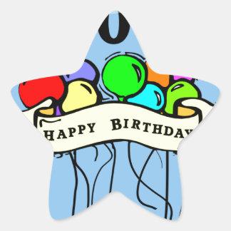 Happy 100th Birthday ballons Stickers